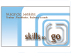 Skills to go business card